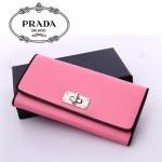 1M1244 PRADA 專櫃最新款韓版熱銷長款錢包