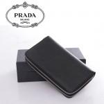 2M1303 PRADA 專櫃最新款韓版熱銷牛皮雙拉鏈錢包手拿包