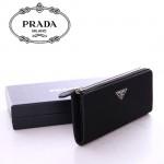 1M1183-14 PRADA 專櫃最新款韓版熱銷尼龍配牛皮長夾