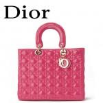Dior 6323-13 欧美经典菱格 LADY DIOR 戴妃包