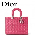 Dior 6323-14 欧美经典菱格 LADY DIOR 戴妃包