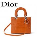 Dior 6325-17  單肩斜跨雙用包  LADY DIOR 戴妃包