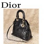Dior 6347  單肩斜跨雙用包  LADY DIOR 戴妃包