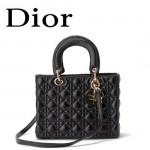 Dior 6325-9 欧美经典菱格 LADY DIOR 戴妃包