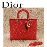 Dior 6365-1  欧美经典菱格 LADY DIOR 戴妃包