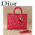 Dior 6365-2  欧美经典菱格 LADY DIOR 戴妃包