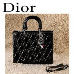 Dior 6365-4  欧美经典菱格 LADY DIOR 戴妃包