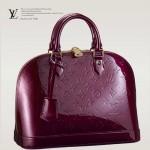 LV M91691 專櫃新款时尚淑女漆皮压花贝壳包手提包