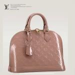 LV M91583 13早春 ALMA 裸粉色漆皮小号手提包