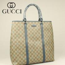 GUCCI  星形图案顶级帆布购物袋 223668