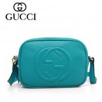 GUCCI 308364-6 夏季新款熱賣女包 時尚單肩包斜挎包女包頭層牛皮女包