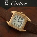 Cartier-17 - 卡地亞瑞士石英滿天星系列手錶