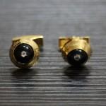 萬寶龍 1312 水晶頭鉆石時尚袖扣、袖釘