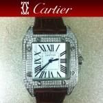 Cartier- 19- 卡地亞瑞士石英滿天星系列手錶