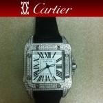 Cartier-20 - 卡地亞瑞士石英滿天星系列手錶