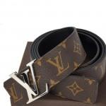 LV 男士皮带 專櫃欧美新款 女士皮带 进口牛皮皮带 时尚腰带 M9821