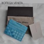 專櫃歐美時尚bv卡包雙色零錢包短款卡夾男女卡包