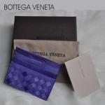 專櫃歐美時尚bv卡包雙色零錢包短款真皮卡夾男女卡包