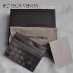 專櫃手工編織bv卡包雙色零錢包短款卡夾男女卡包
