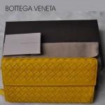寶缇嘉BV錢包 牛皮編織手包 男女通用型
