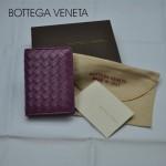 專櫃 BV 小羊皮編織女士款兩折短款錢包106