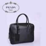 PRADA-VS0305 專櫃新款男包 牛皮手提商务公文电脑包
