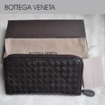 2013年新款 編織女包 氣質款 女士錢包 羊皮長款錢夾 BV 1008