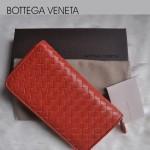 專櫃年新款 編織女包 氣質款 女士錢包 羊皮長款錢夾 BV 1008