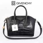 專櫃新款Givenchy/紀梵希女包鱷魚紋牛皮時尚高檔單肩休閑商務包9981-5