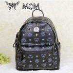 MCM 4釘-1黑色雙肩背包 書包 爆款