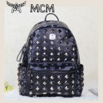 MCM 今年巨火爆的FASHION街头款背包全钉包  中號