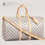 LV N48223  新款LV女包/手提旅行包袋 格紋帆布
