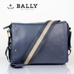 BALLY 巴利0069-2 男手提單肩斜跨包藍色