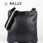 BALLY 巴利 0065-1 休閑男包 潮流時尚單肩斜跨牛皮包黑色