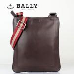 BALLY 巴利-0065 休閑男包 潮流時尚單肩斜跨牛皮包咖啡色