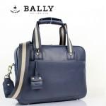 BALLY 巴利0068-2 男手提單肩斜跨包藍色