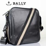 BALLY巴利 0071-1男包 單肩包 時尚男包 休閑斜挎包黑色