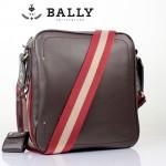 BALLY巴利 0071男包 單肩包 時尚男包 休閑斜挎包咖啡色