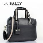 BALLY 巴利0068-1 男手提單肩斜跨包黑色