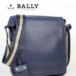 BALLY 0067-2 男士公文包斜跨手提男包單肩包藍色