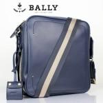 BALLY巴利 0071-2男包 單肩包 時尚男包 休閑斜挎包藍色