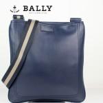BALLY 巴利 0065-2 休閑男包 潮流時尚單肩斜跨牛皮包藍色