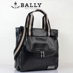 新款巴利0075-1  時尚斜挎單肩手提包 男士休閑商務包黑色
