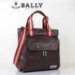 新款巴利0075 時尚斜挎單肩手提包 男士休閑商務包咖啡色