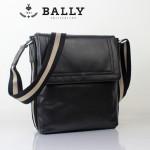 BALLY巴利 0073-1 男士皮包 休閑經典款牛皮斜跨男士包黑色