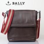 BALLY巴利 0073 男士皮包 休閑經典款牛皮斜跨男士包咖啡色