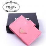 PRADA - 1M1211  經典斜紋牛皮男女通用卡包