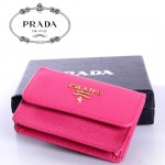 PRADA- 1M0881-2  女士錢包零錢包錢夾短款橫款牛皮