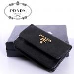 PRADA- 1M0881-1  女士錢包零錢包錢夾短款橫款牛皮