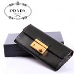 PRADA- 1M1037  Saffiano 皮革錢夾 女士新款卡包 卡片包